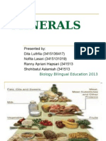 Presentation Vitamin and Minerals