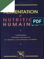Alimentation Et Nutrition Humaines