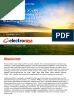 Electrovaya Presentation
