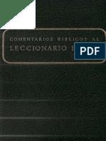 Secretariado Nacional de Liturgia - Comentarios Biblicos Al Leccionario Ferial