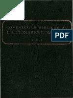 Secretariado Nacional de Liturgia - Comentarios Biblicos Al Leccionario Dominical B