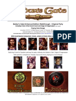 Baldur's Gate Enhanced Edition Walkthrough - Original Party