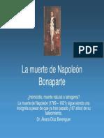 La Muerte de Napoleon