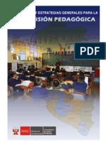 Supervision Pedagogica