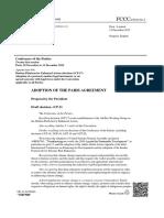 texto final del acuerdo contra el cambio climático
