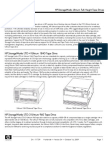 HP Tape Specs