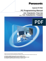 PC Programming Manual