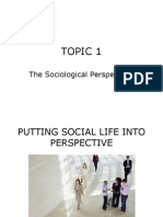 Sociology (Lib420) Topic 1