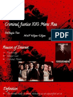 criminal justice 1010- mens rea