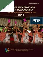 Statistik Pariwisata Kota Yogyakarta Tahun 2013