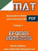 X-MAT EFOMM 2009-2015