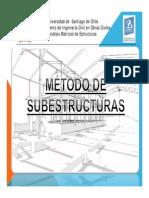 Método Subestructuras