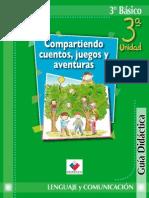 Lenguaje Compartiendo cuentos, juegos y aventuras 3°