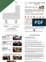 5. Winter 2015 Newsletter