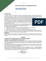 Analisis Situacion Salud Publica Departamento Puno