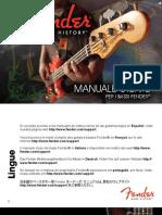 Manuale Fender
