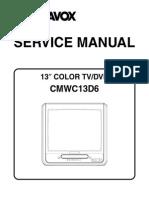 Magnavox Cmwc13d6