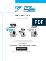 SAP Financials Accounts Payable722771401184951
