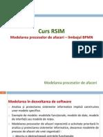 Curs Modelarea Proceselor de Afaceri - BPMN