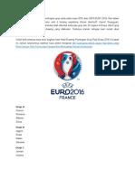 Drawing Uefa Euro 2016