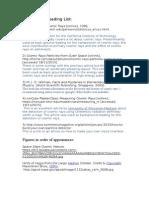 FactSheet References