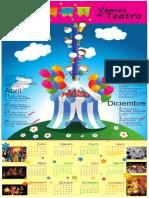 Calendario Salidas Pedagógicas 2014