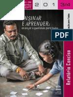 Relatorio UNESCO - por ensinar e Aprender