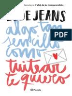 3724 Blue Jeans Fragmento