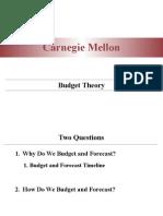 Budget Theory Presentation