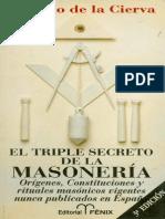 De La Cierva Ricardo - El Triple Secreto de La Masoneria