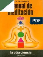 Schwartz Jack Manual de Meditacion
