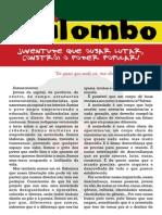 Coletivo Quilombo - Frente e Verso de Um A4 - Mais Simples - Curvas