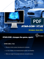 CD-Adapco STAR-CCM 702 New Features