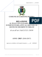 Relazione Al P. F. 2015 Gardone - Definitivo