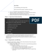 interdisciplinary project plan