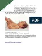 Remedii Naturiste Pentru Colicile La Bebelusi