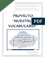 PROYECTO VOCABULARIO
