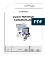 Sistema de Monitoreo Turbogenerador