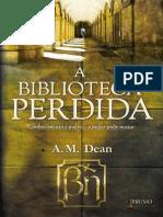 A Biblioteca Perdida - A. M. Dean