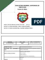 resignificacion de plan de area 2015 parte conceptual