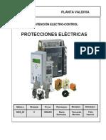 PROTECCIONES ELECTRICAS MANTENCION