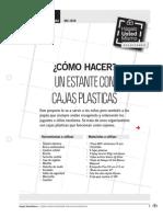 MU-Is59_como Hacer Un Estante Con Cajas Plasticas