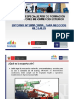 1.1. Entorno Internacional Para Negocios Globales