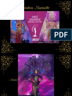 Miss Univers Costume
