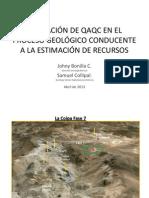 05 - Desarrollo Global de QAQC - J Bonilla - S Collipal - Kinross (1)