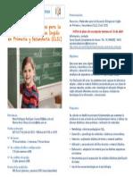 CURSO - Recursos y Materiales Para La Educación Bilingüe en Inglés