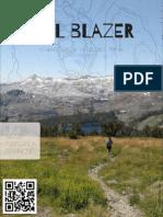 graphic design sample 1 hiking magazine