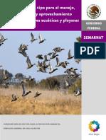 PMT Aves Acuáticas y Playeras
