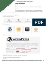 Cara Install Wordpress Di IdHostinger _ Panduan IdHostinger