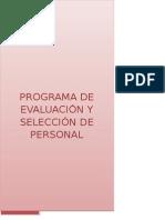 Programa Seleccion Final